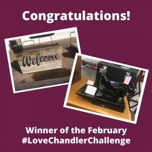 February Love Chandler Challenge Winner