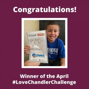 April Love Chandler Challenge Winner
