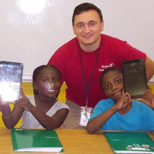 Participants in the ASPIRE Read to Succeed Program