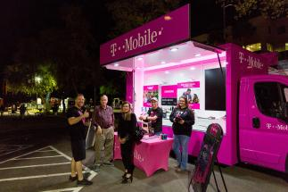Chandler Jazz Festival T-Mobile Booth