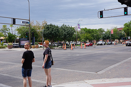 ​  The City will add 160 advanced thermal cameras at 40 intersections in West Chandler by the summer of 2020.​