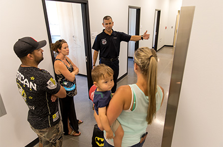 Tour of the Public Training Facility